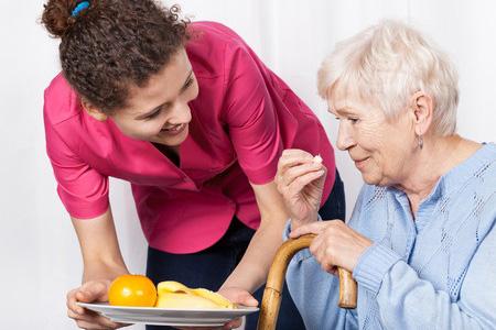 Essen auf Rädern beim Pflegedienst Weber